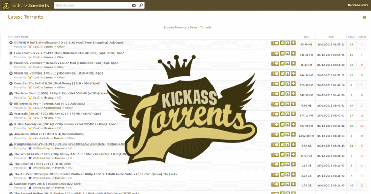 How to sign up for Kickass Torrents