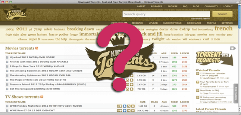 What is Kickass Torrents and Where is it Being Hosted