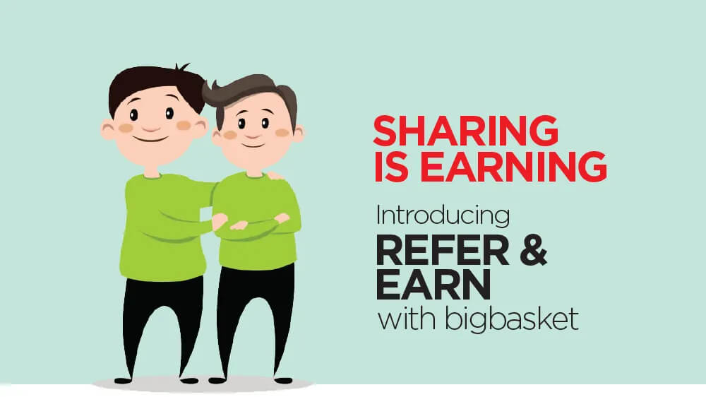Big Basket referral code – Get 100 rs Credit instantly