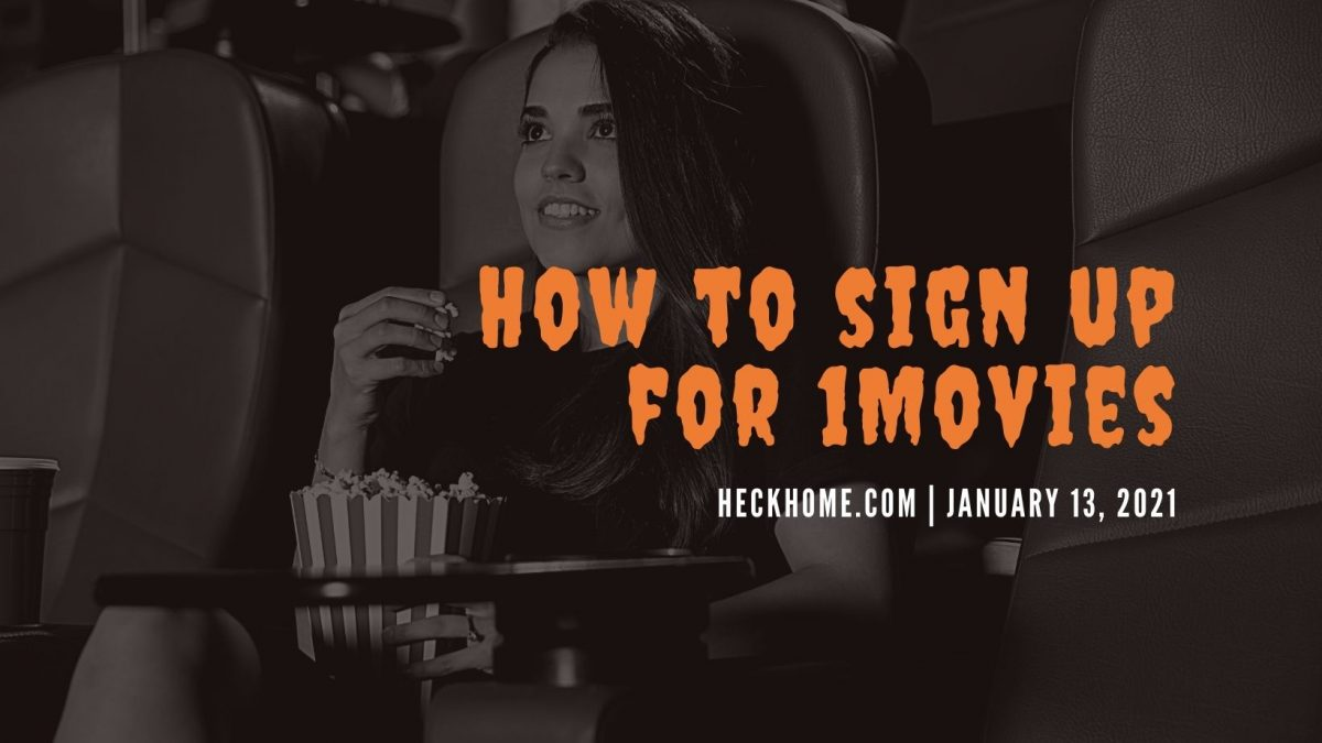 How to sign up for 1Movies