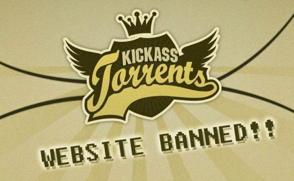 Kickass Torrent Banned
